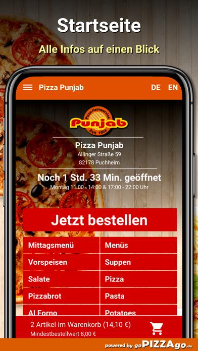 Pizza-Punjab Puchheim screenshot 2