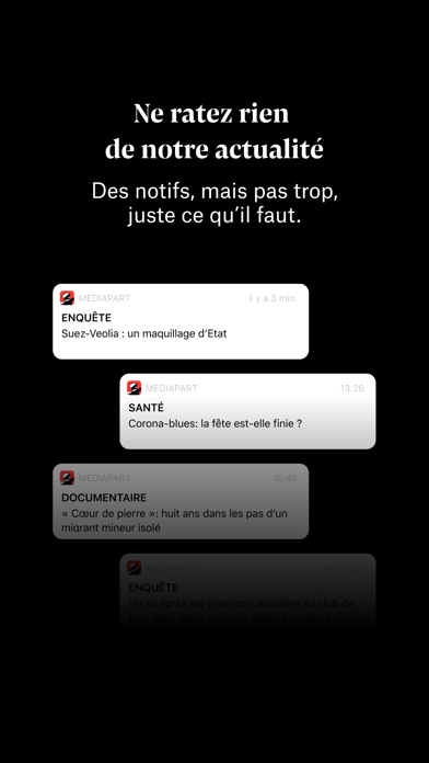 Mediapart, journal indépendant Screenshot