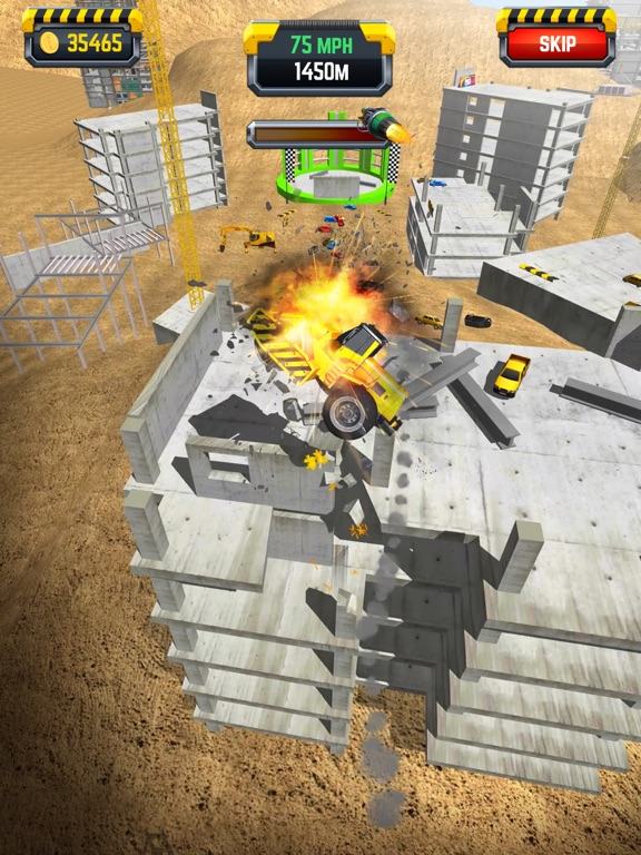 Construction Ramp Jumping screenshot 11
