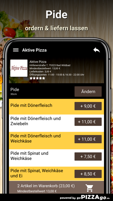 Aktive Pizza Bad Wildbad screenshot 6