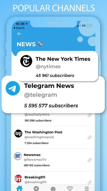 Channel Hub For Telegram App