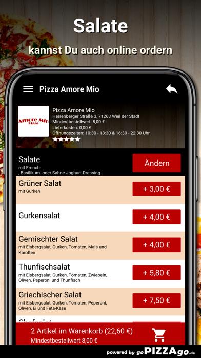 Pizza Amore Mio Weil der Stadt screenshot 5