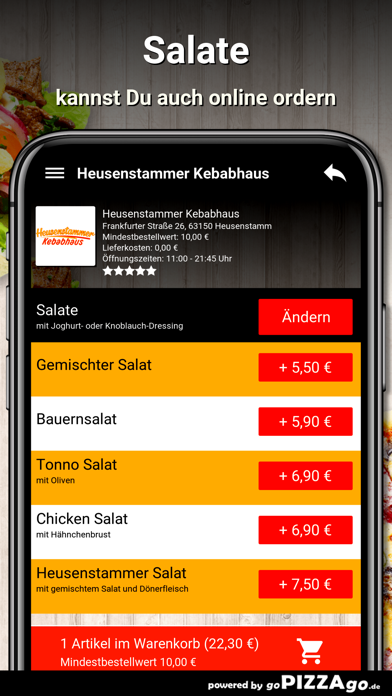Kebabhaus Heusenstamm screenshot 5