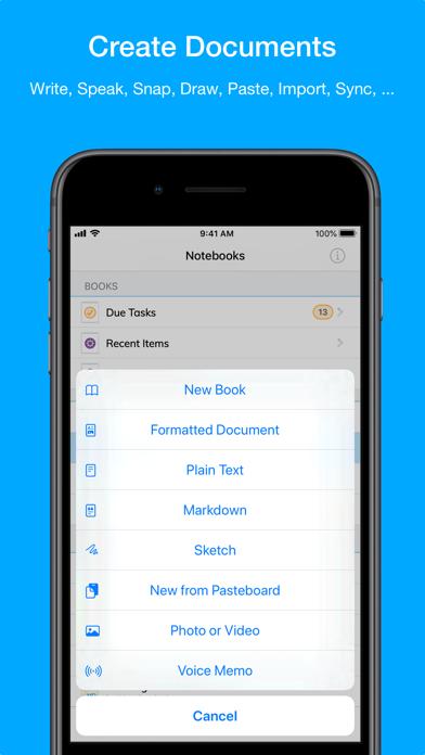 Скриншот №8 к Notebooks – Write and Organize