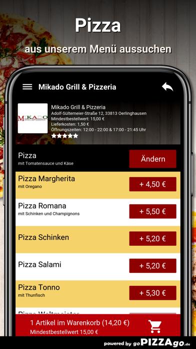 Mikado-Grill Oerlinghausen screenshot 5