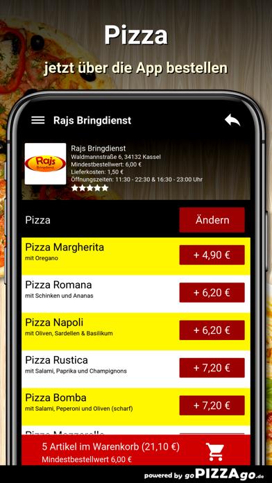 Rajs Bringdienst Kassel screenshot 5