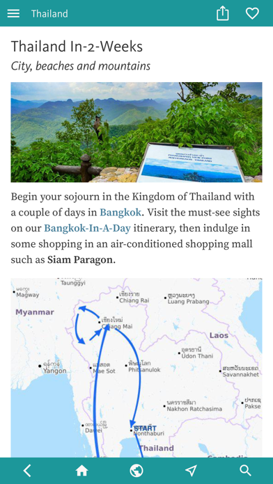 Thailand's Best: Travel Guide screenshot 3