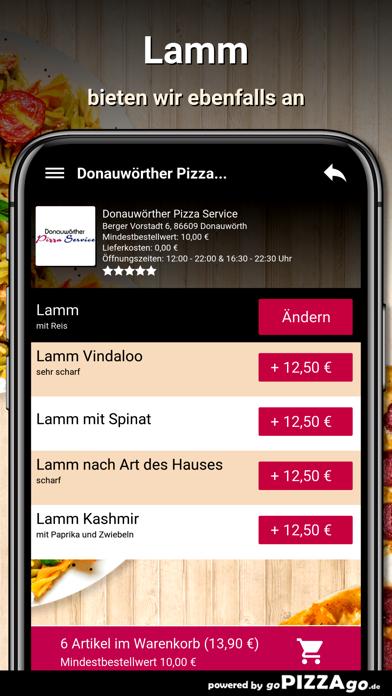 Donauwörther Pizza Donauwörth screenshot 6
