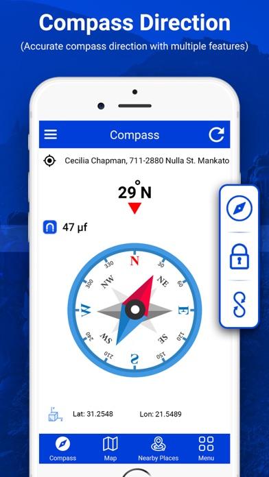 デジタルコンパスは方向を見つける紹介画像2