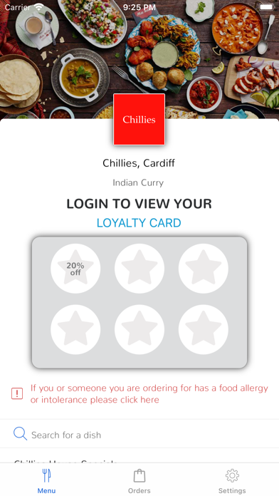 Chillies, Cardiff screenshot 1