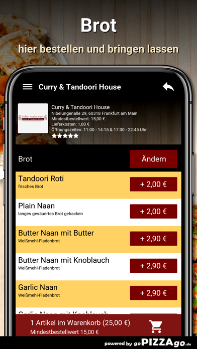 Curry&Tandoori House Frankfurt screenshot 6