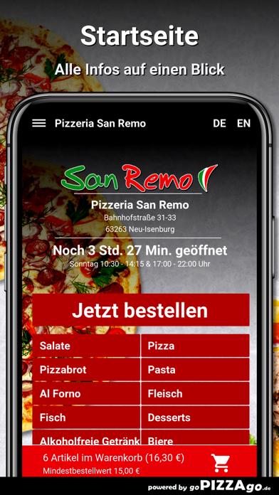 Pizzeria San Remo Neu-Isenburg screenshot 2