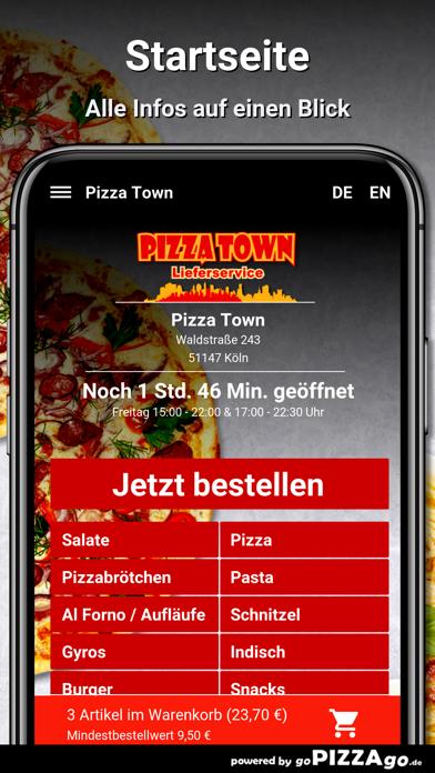 Pizza Town Köln screenshot 2