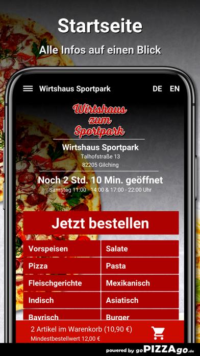 Wirtshaus Sportpark Gilching screenshot 2
