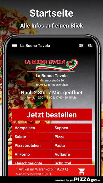 La Buona Köln Rodenkirchen screenshot 2