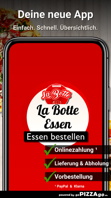 Pizzeria La Botte Essen screenshot 1