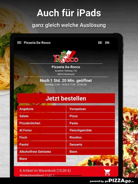 Pizzeria Da-Rocco Dortmund screenshot 7
