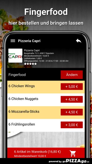 Pizzeria Capri Eppstein screenshot 6