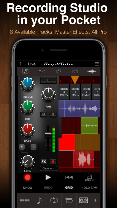 AmpliTube Jimi Hendrix™ ScreenShot5