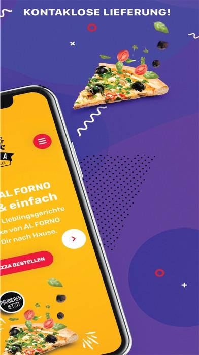 Screenshot 2 of Al Forno - Pizzeria App