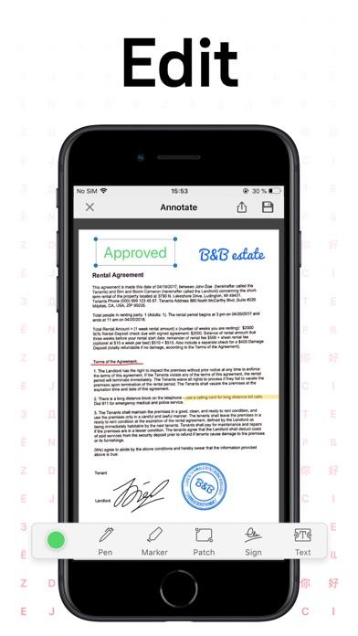 FineReader Pro: PDF Scanner Screenshots