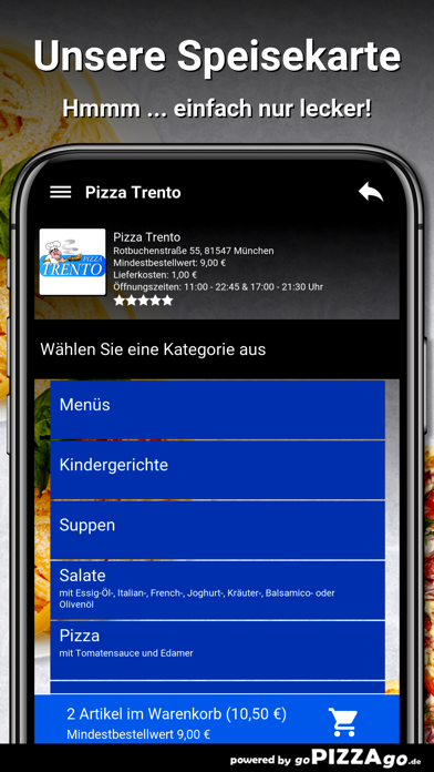 Pizza-Trento München screenshot 4