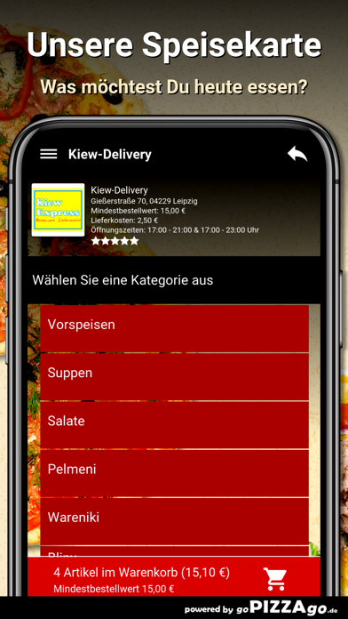 Kiew-Delivery Leipzig screenshot 4