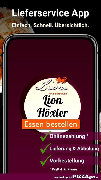 Lion Restaurant Höxter screenshot 1