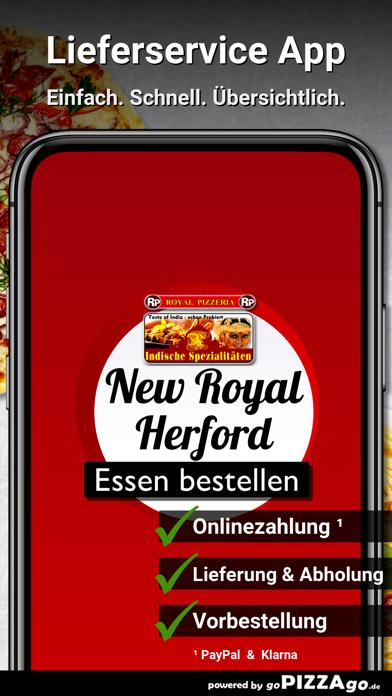 New Royal Pizzeria Herford screenshot 1