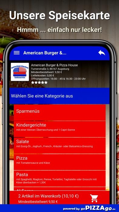 American Burger Augsburg screenshot 4