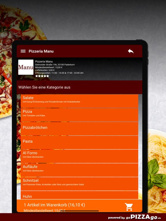Pizzeria Manu Paderborn screenshot 8