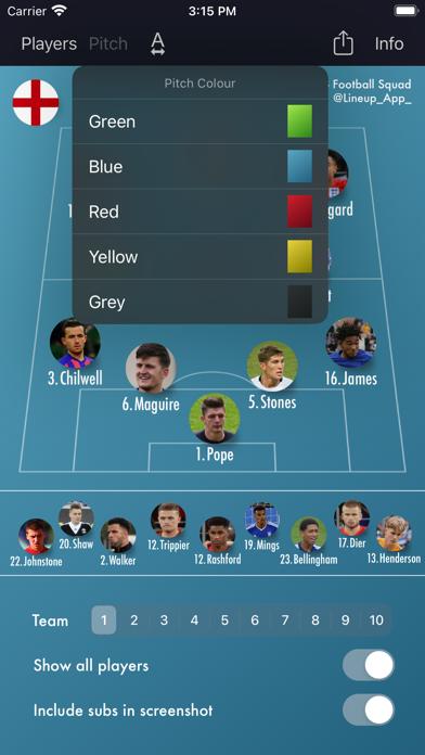 Lineup - Football Squadのおすすめ画像6