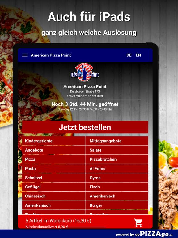 American Pizza Point Mülheim screenshot 7