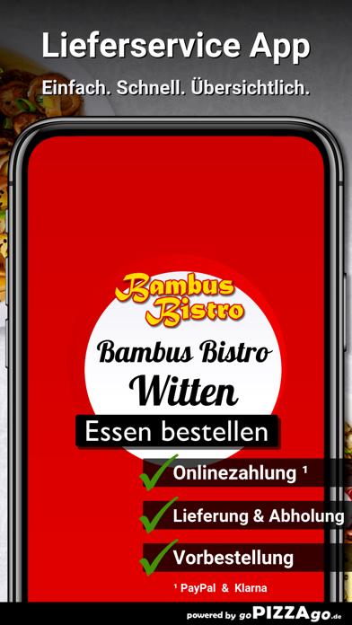 Bambus Bistro Witten screenshot 2
