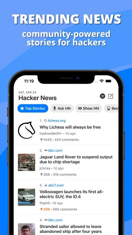 Octal for Hacker News