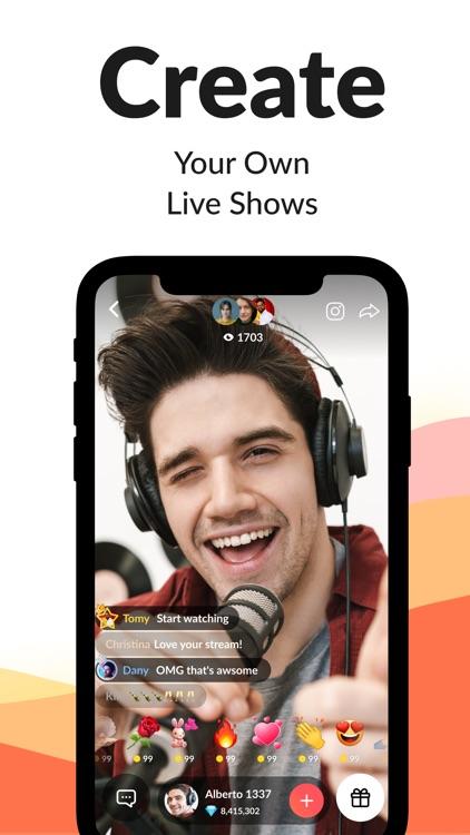Tango-Live Stream & Video Chat screenshot-3