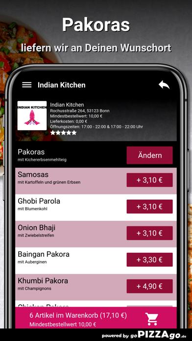Indian Kitchen Bonn screenshot 6