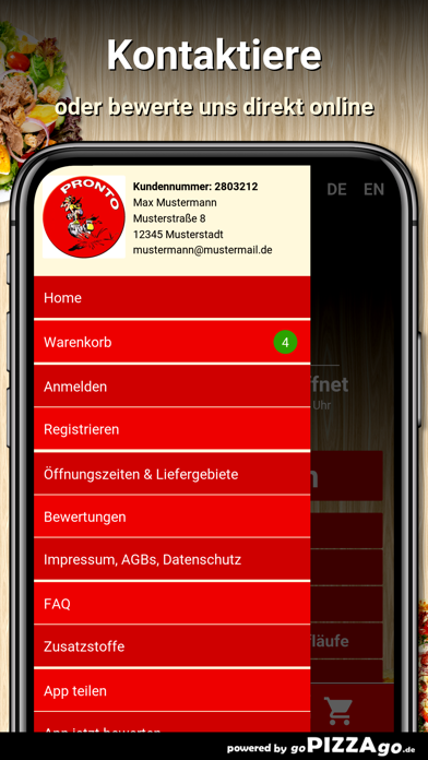 Pronto Pizza Düsseldorf screenshot 3