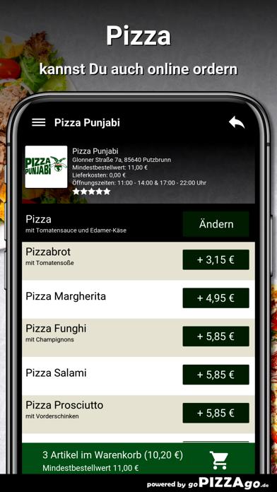 Pizza Punjabi Putzbrunn screenshot 5