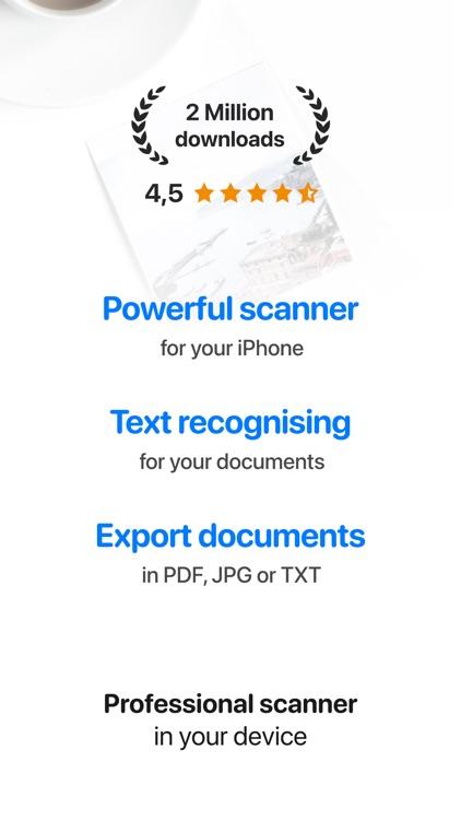 iScan - PDF & Document Scanner
