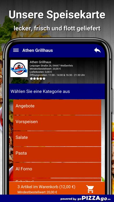 Athen Grillhaus Weißenfels screenshot 4