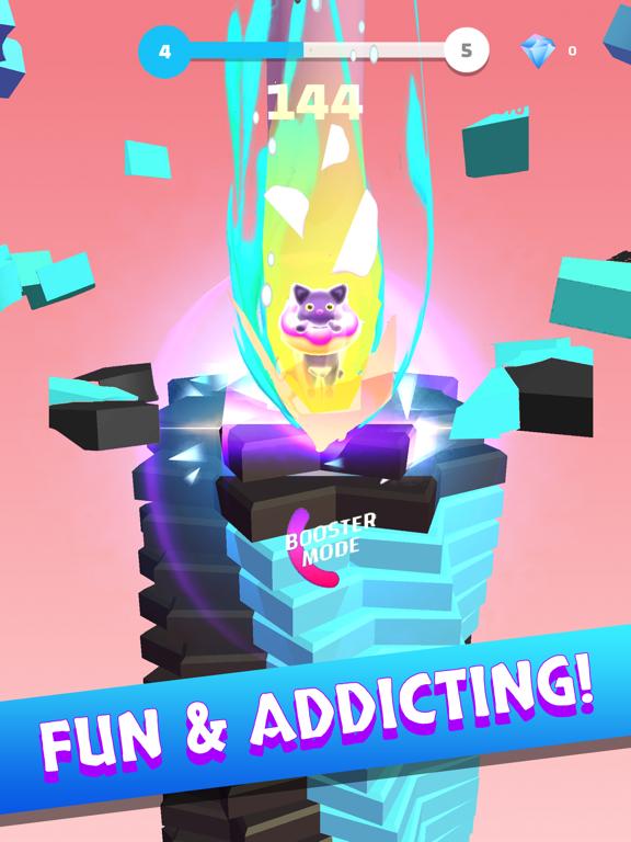 Helix Stack Jump: 楽しい3Dゲームのおすすめ画像5