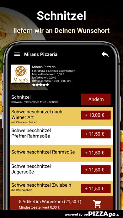 Mirans Pizzeria Babenhausen screenshot 6
