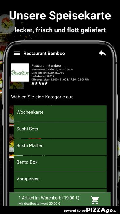 Restaurant Bamboo Berlin screenshot 4