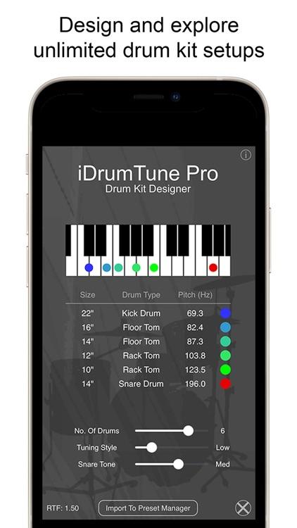 Drum Tuner - iDrumTune Pro screenshot-4