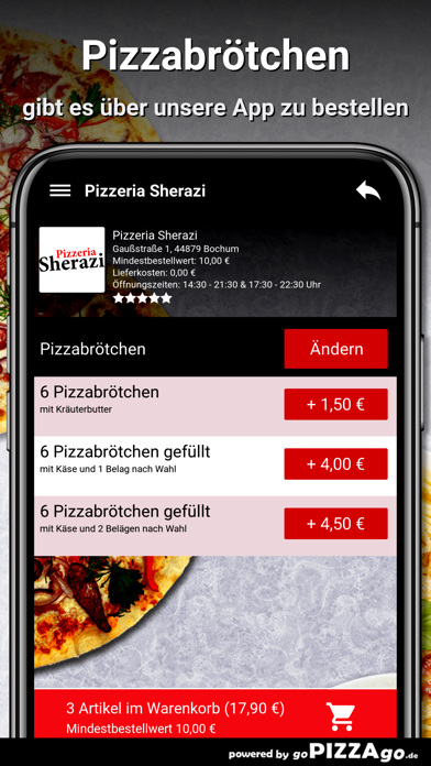 Pizzeria Sherazi Bochum screenshot 6