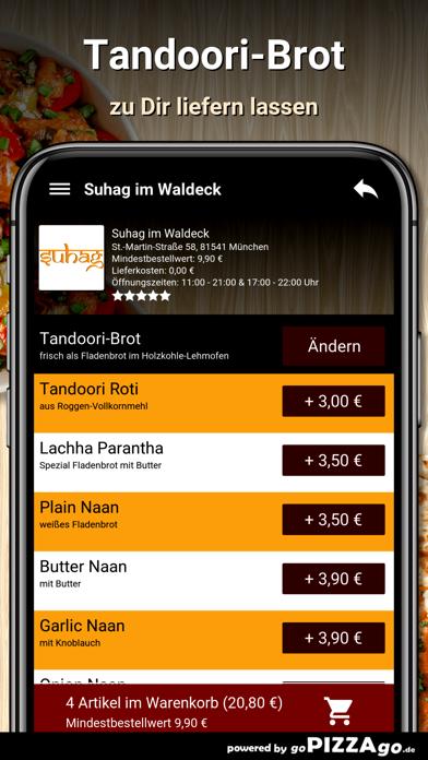 Suhag im Waldeck München screenshot 5
