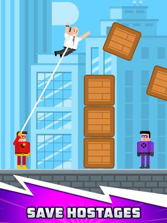 The Superhero League iPad app afbeelding 4