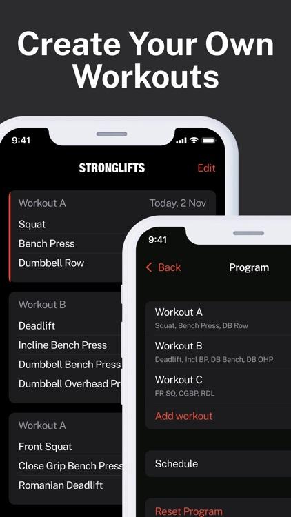 StrongLifts Weight Lifting Log screenshot-6