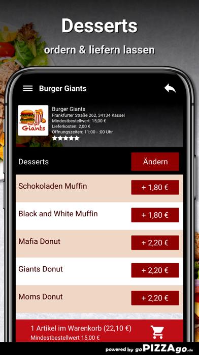 Burger Giants Kassel screenshot 6